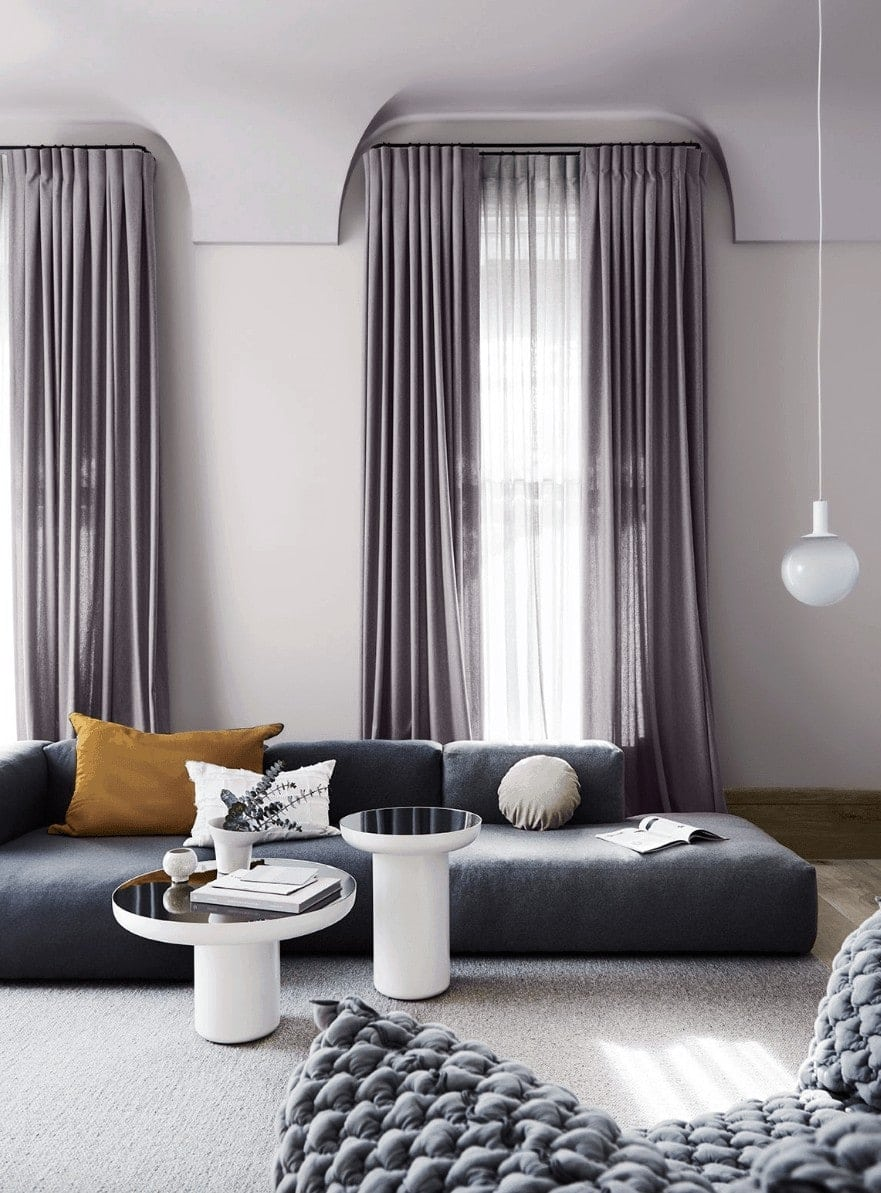 home colour trends 2019 dulux lilac living room