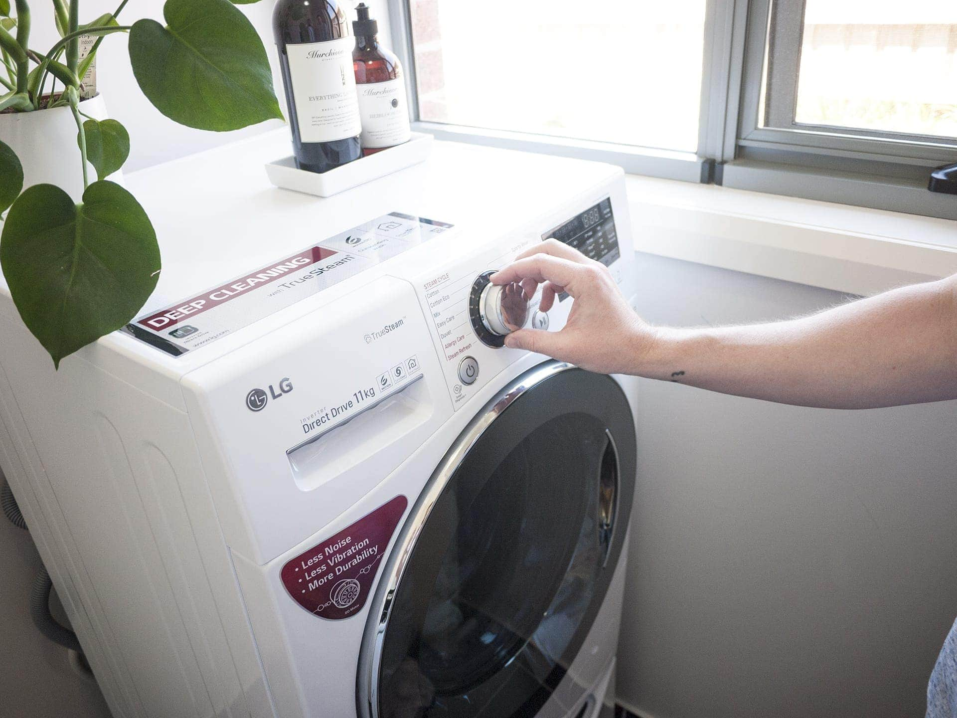 review of the lg twin wash washing machine