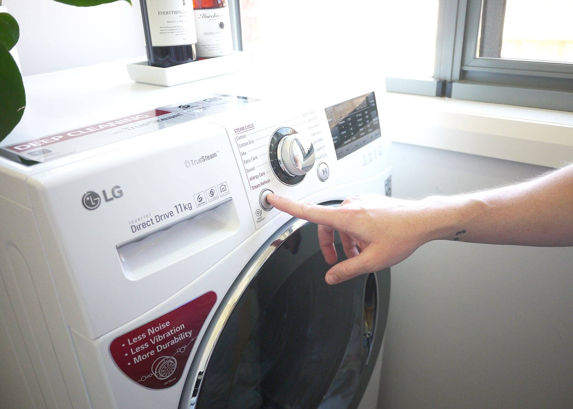tlc interiors lg twin wash washing machine review