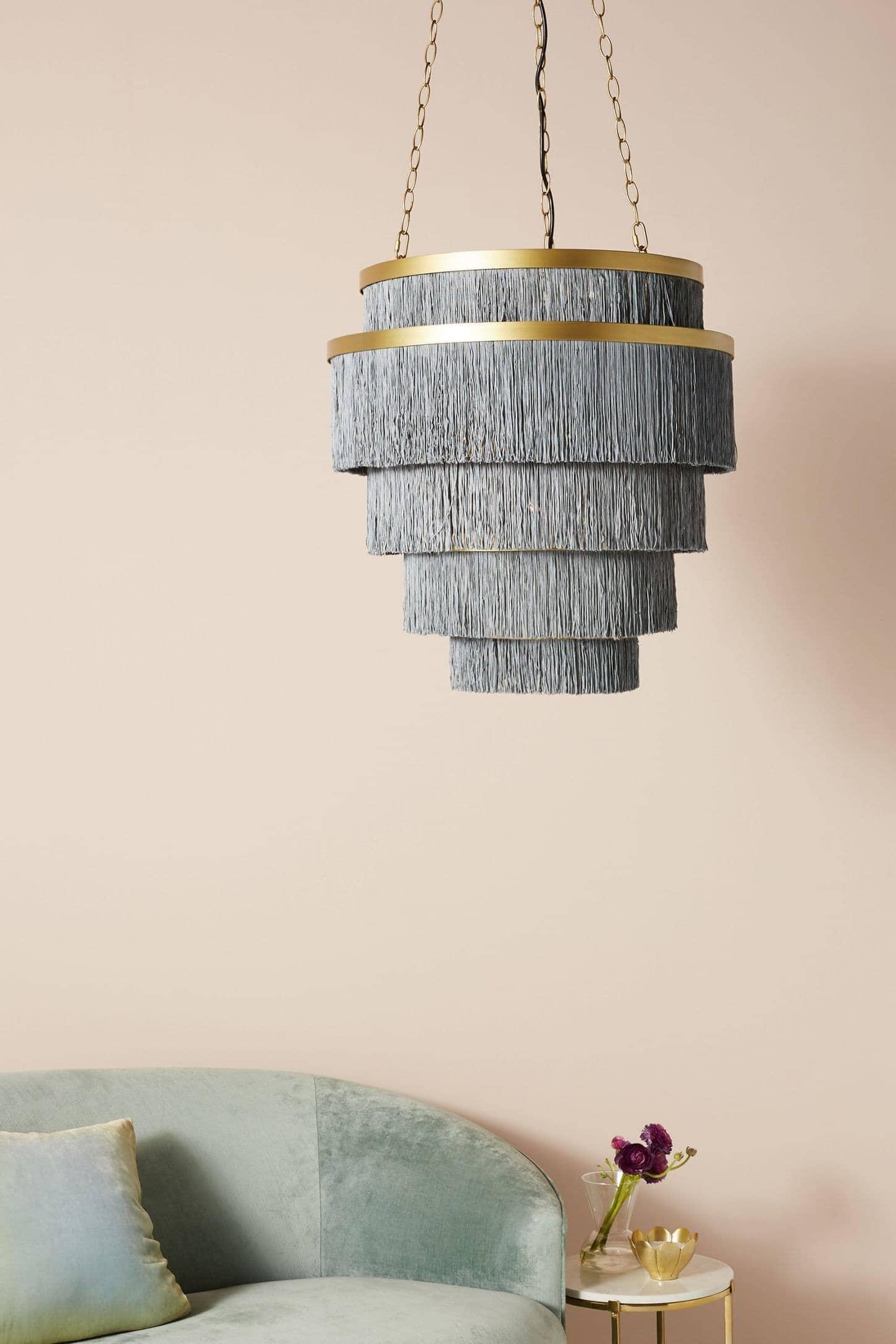 fringe pendant light from anthropology fringe decor