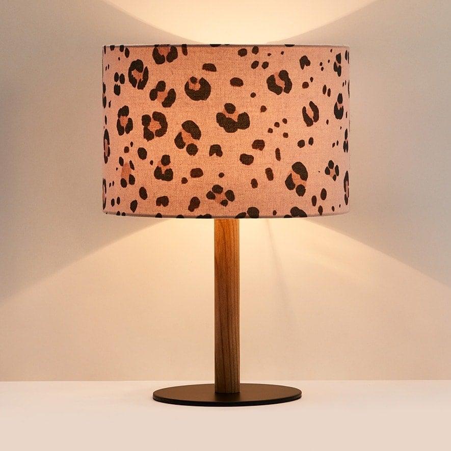 leopard print lamp from adairs animal print lampshade