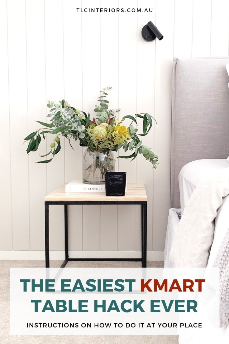 kmart side table hack black marble side table from kmart as bedside table in scandi bedroom