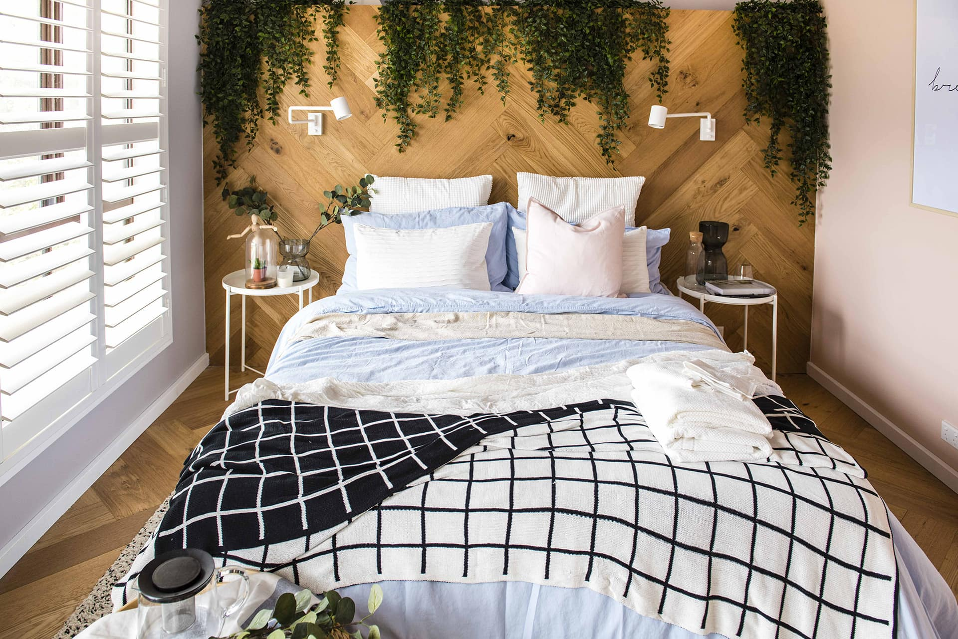 house rules 2019 lisa and andy bedroom with nordic styling
