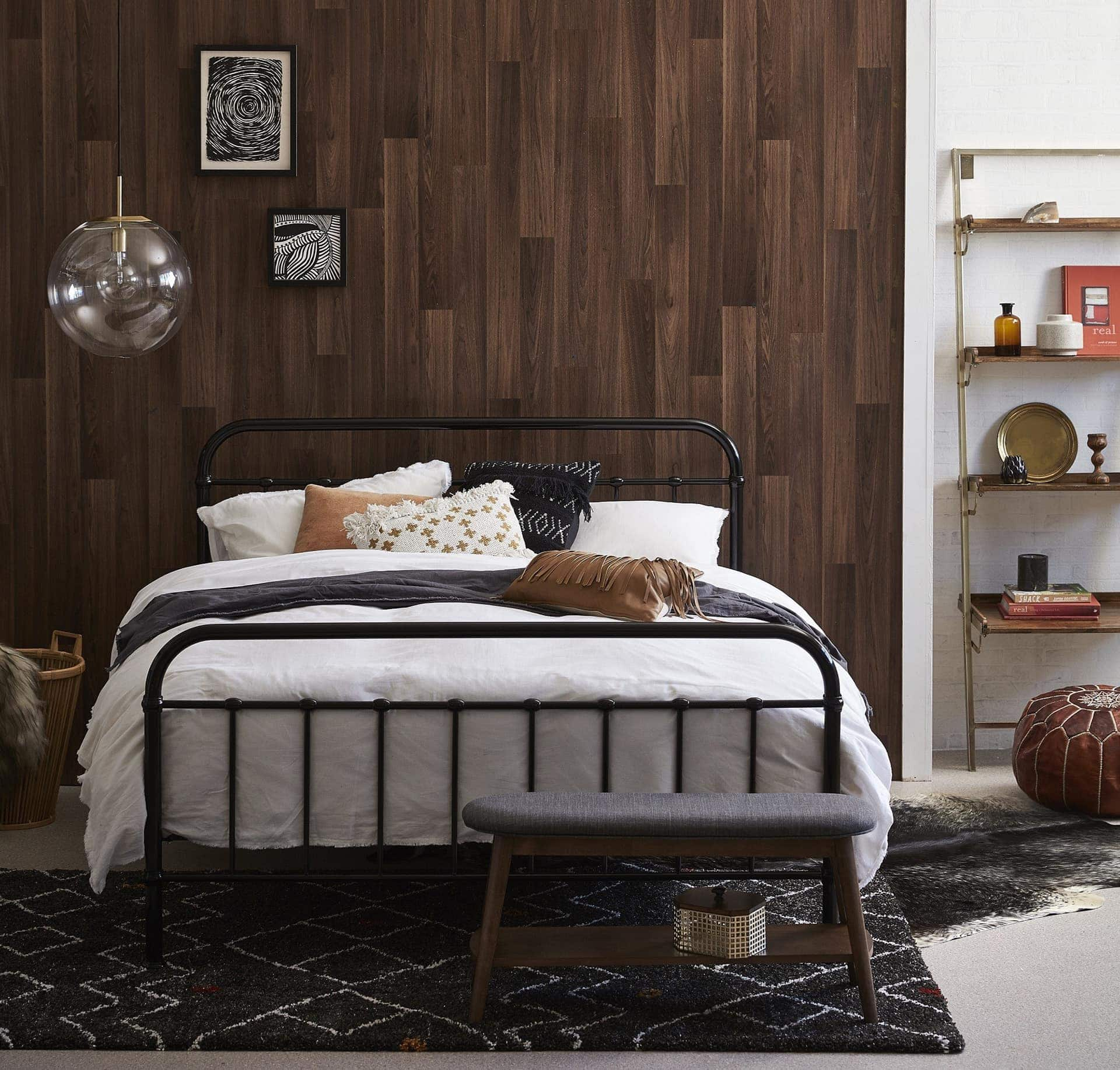 Picture of: The Best In Black Metal Bed Frames Tlc Interiors