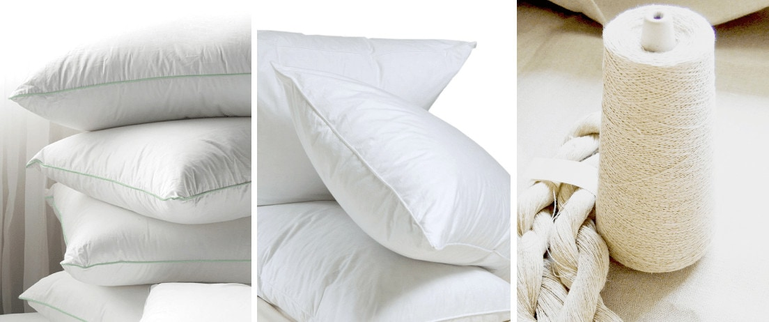eco friendly feather cushion inserts