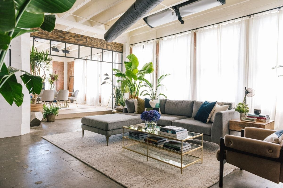 inside the queer eye apartment west elm living room furniture