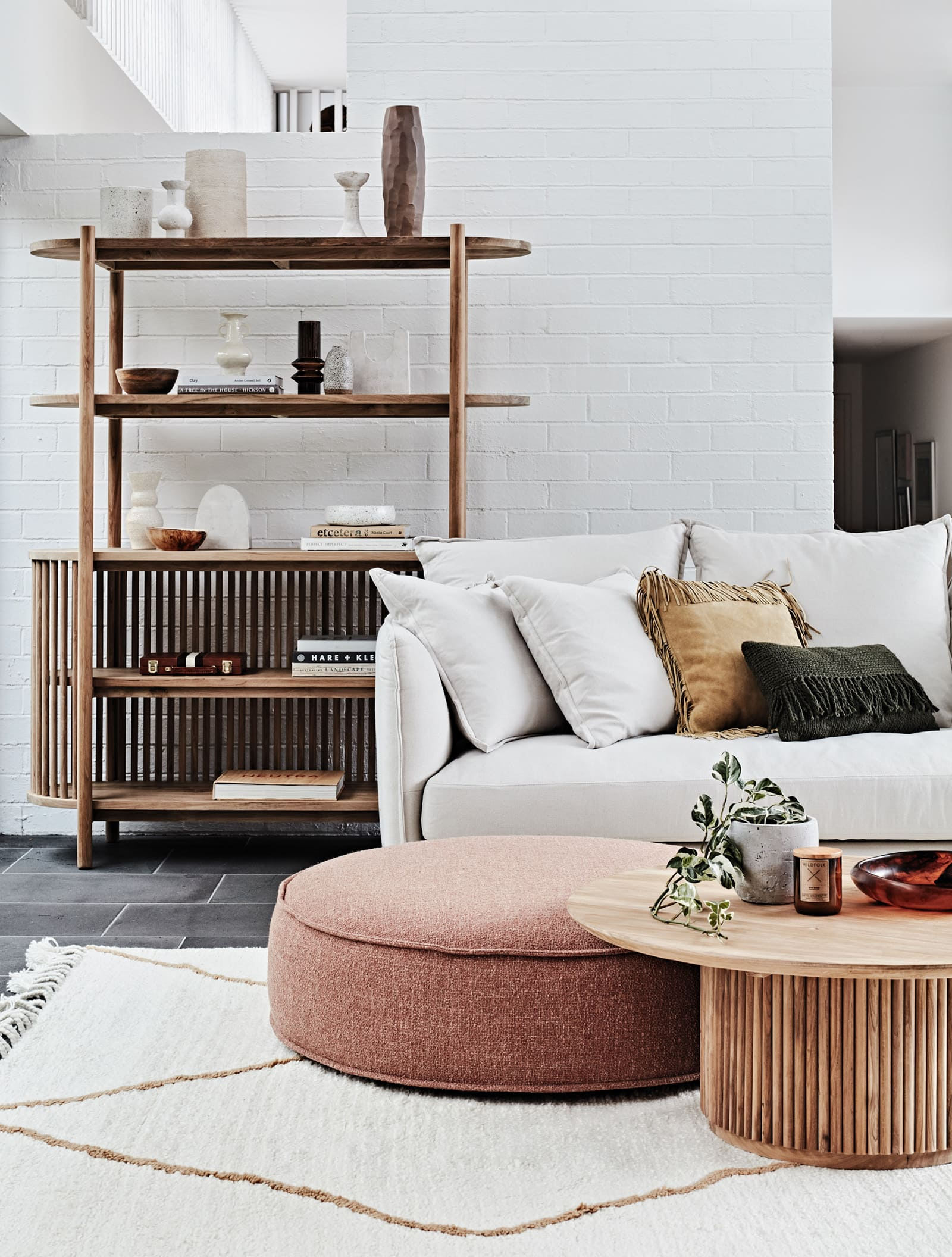 globewest Tully Bookcase and Coffee Table interior design trends 2019
