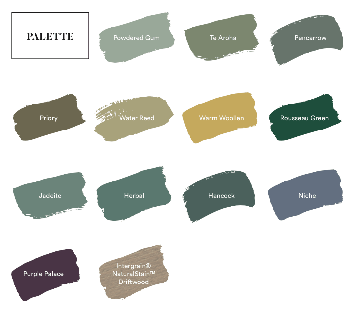 dulux 2020 colour forecast cultivate colour palette
