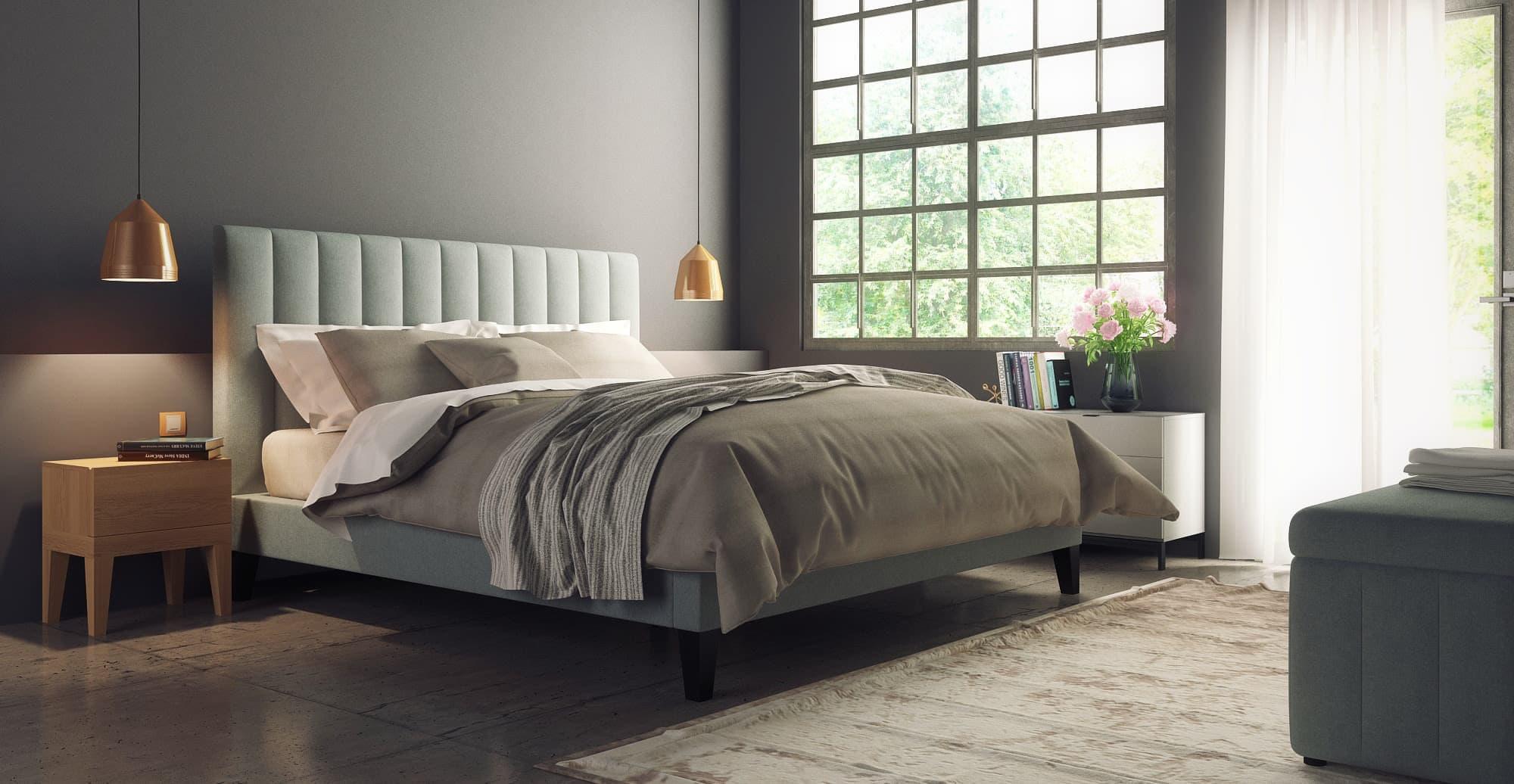 megan-queen-size-bed-frame-sophisticated-master-bedroom-design