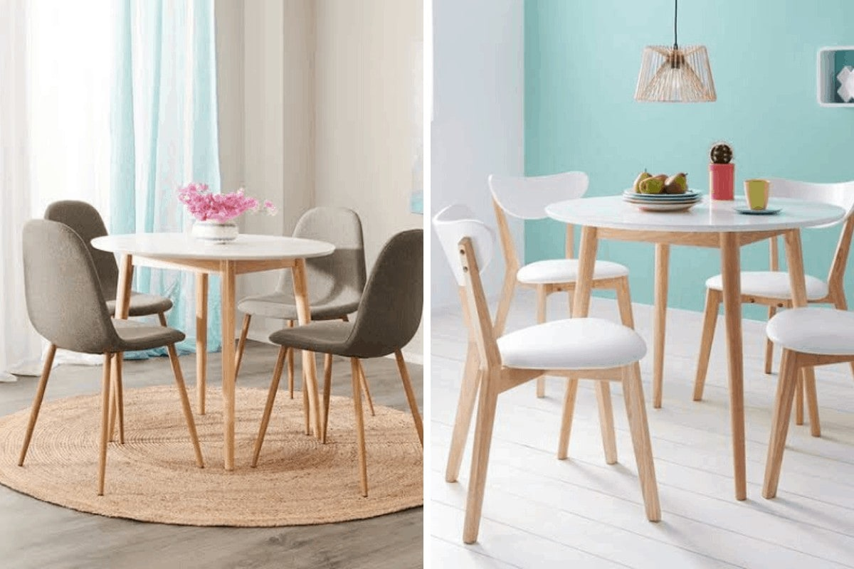 fantastic furniture tables for small dining rooms too white round table