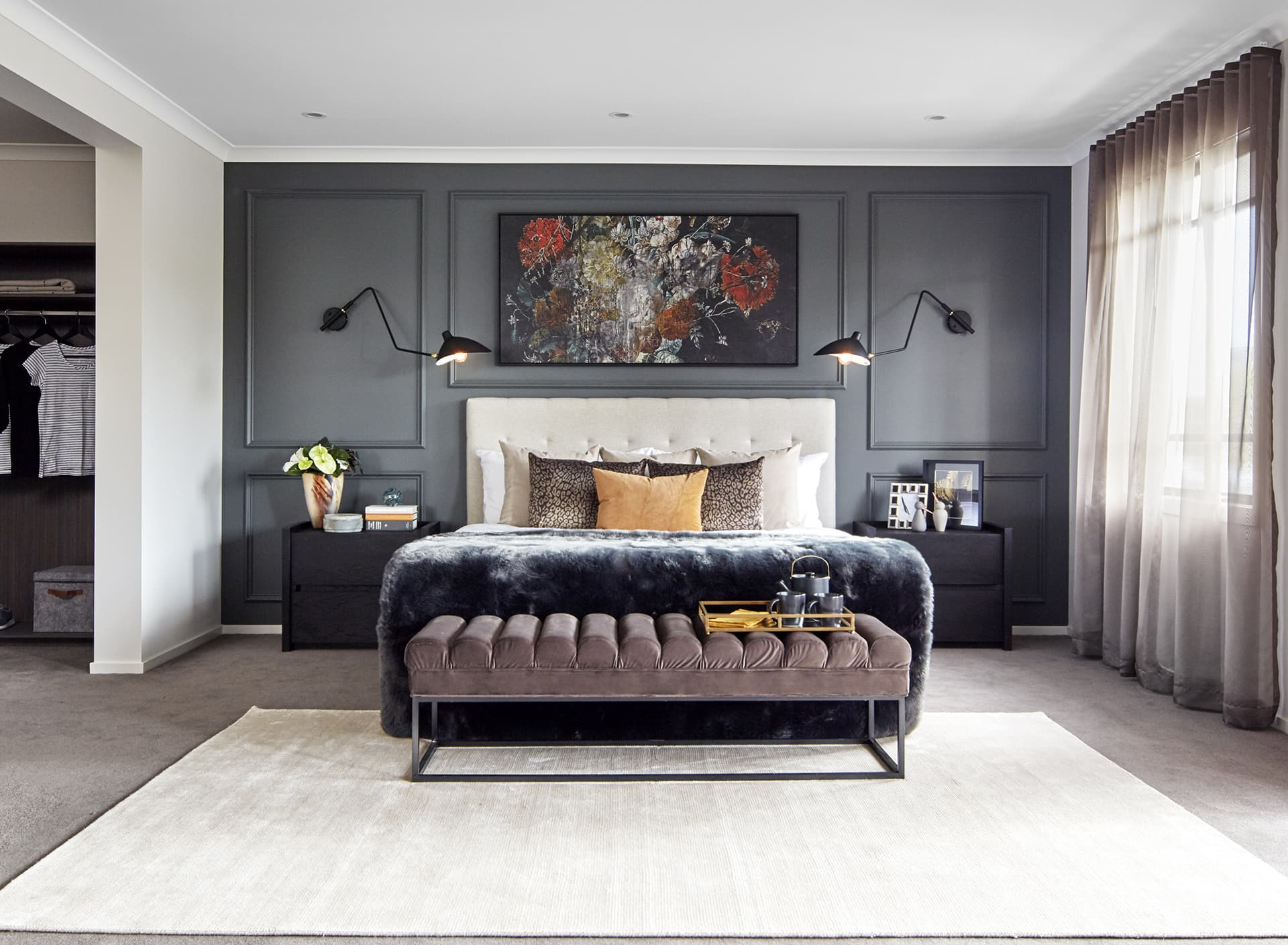 Bedroom Feature Wall Ideas: 9 Stylish Options - TLC Interiors