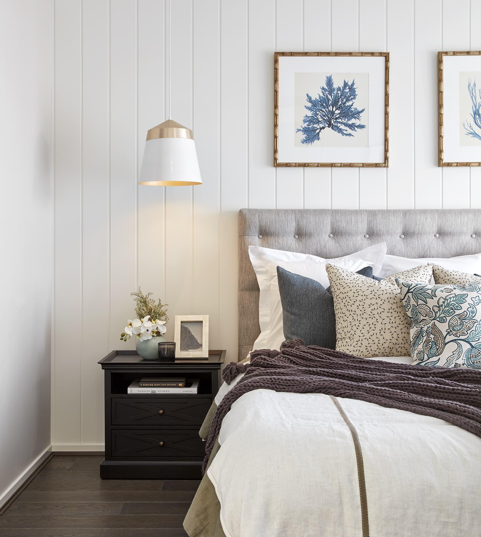Bedroom Feature Wall Ideas: 10 Stylish Options - TLC Interiors