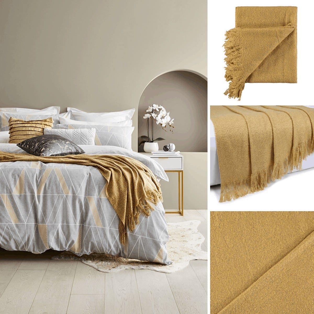 kmart lyla throw affordable throw blankets mustard bedding