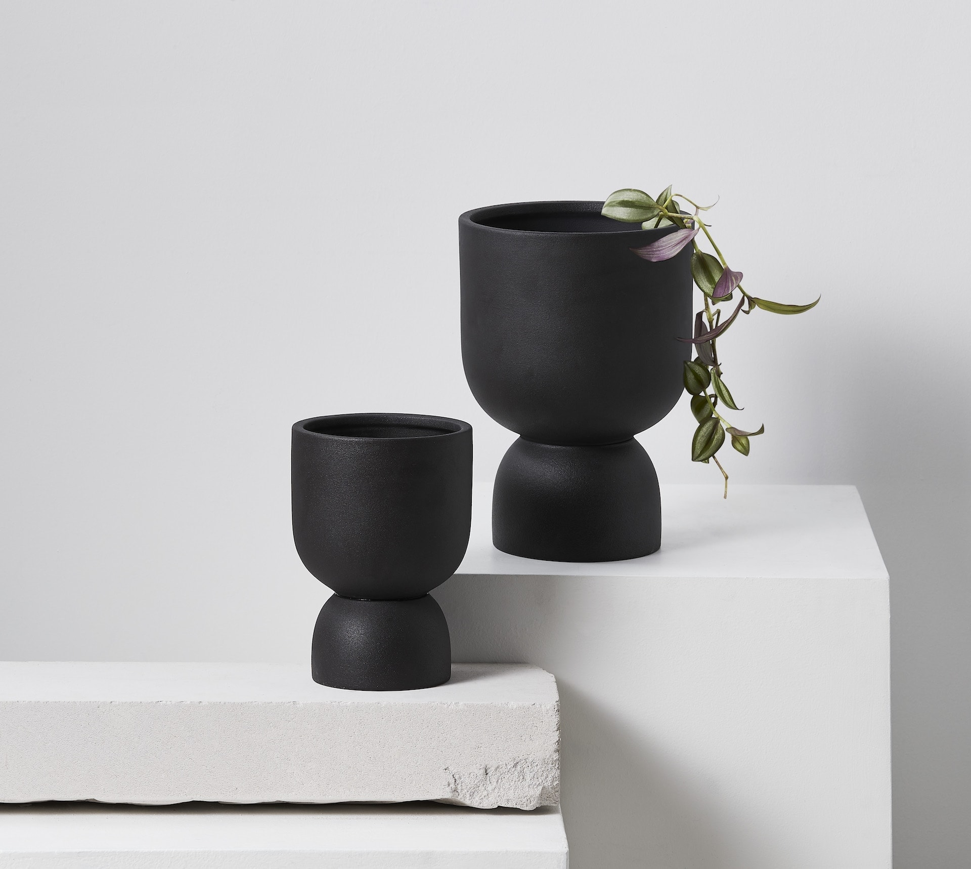 target ember planters black indoor plant pot designs