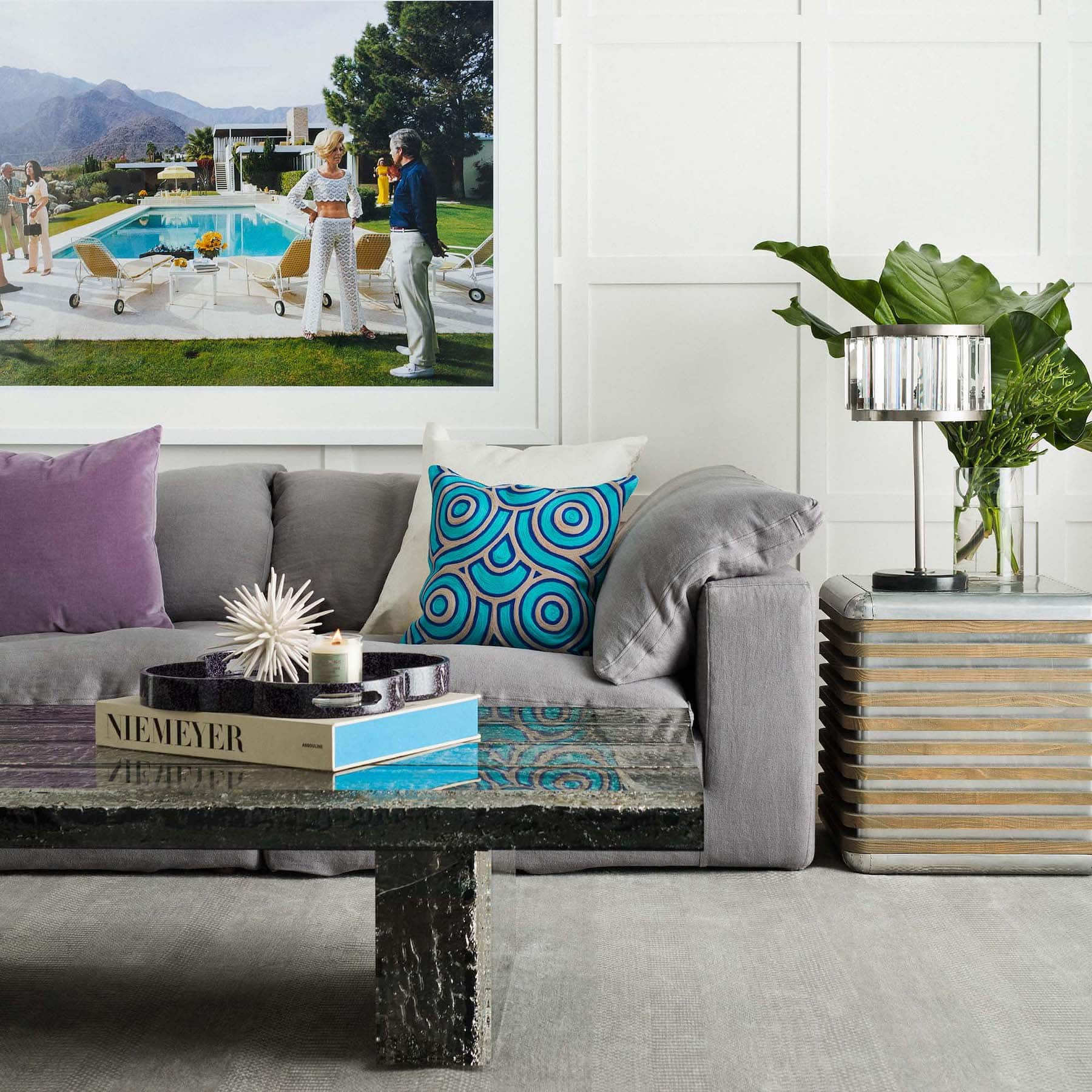 living-room-with-brown-rustic-coffee-table-and-tray-with-flowers