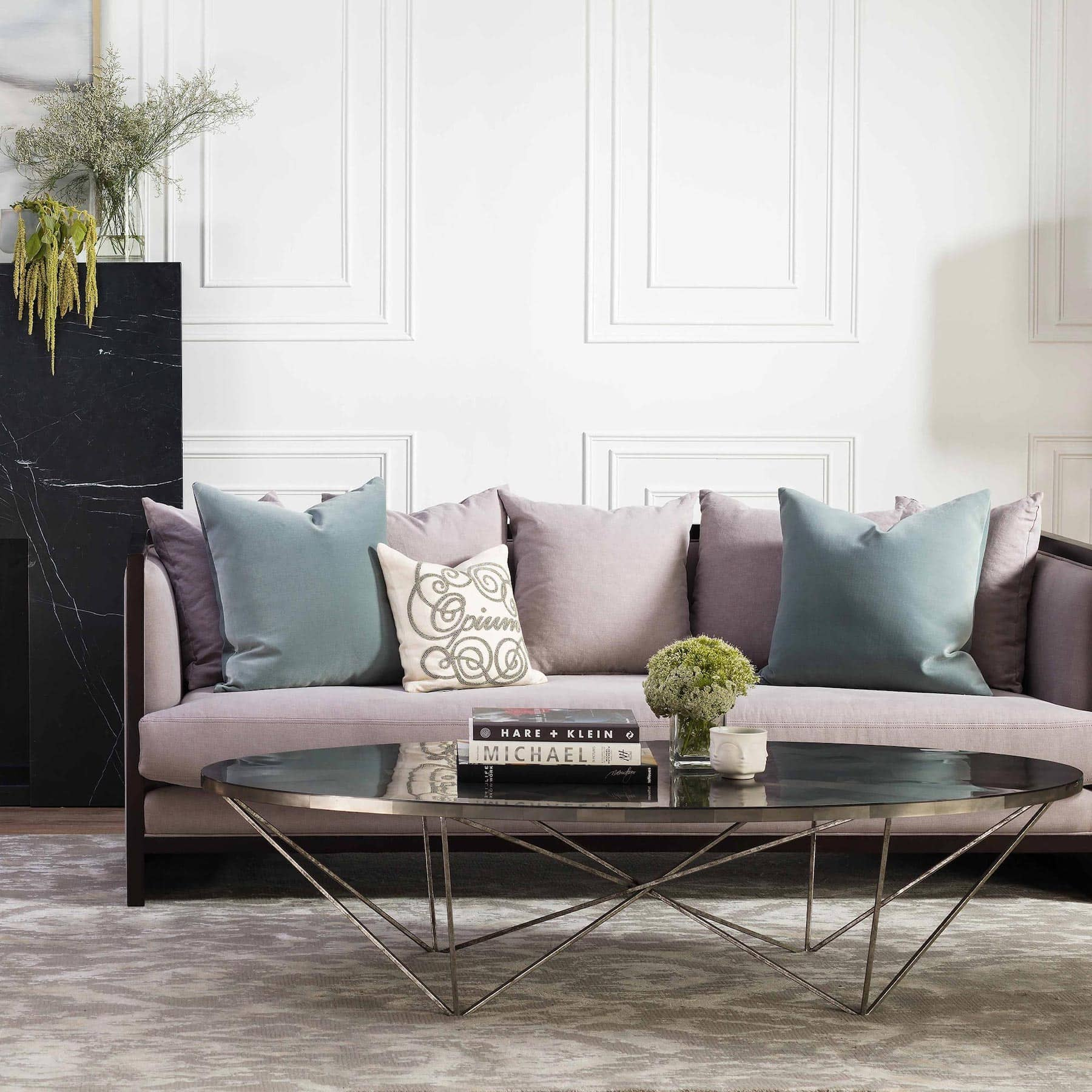 oval coffee table styling feminine living room ideas coco republic
