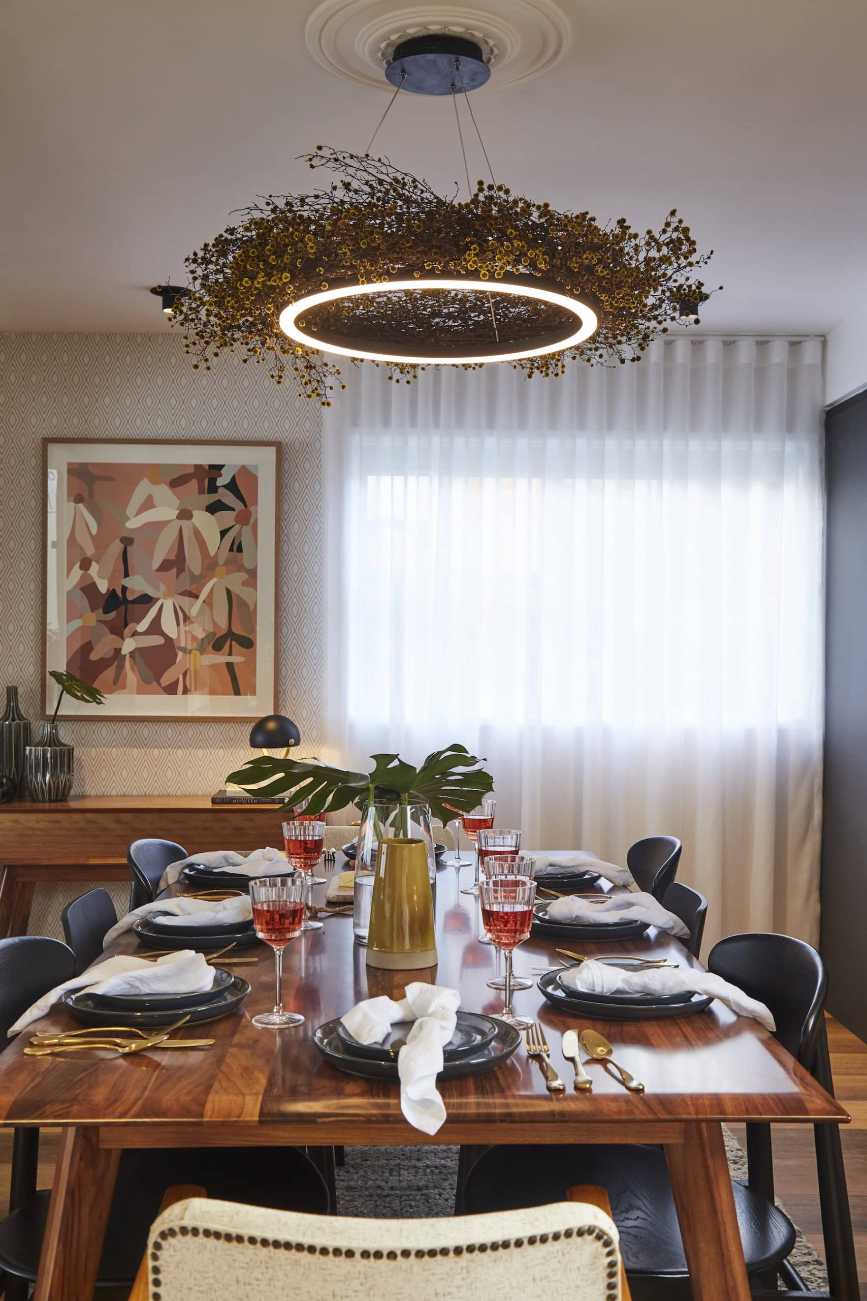 house rules 2020 kimmy and rhi mid century modern dining room
