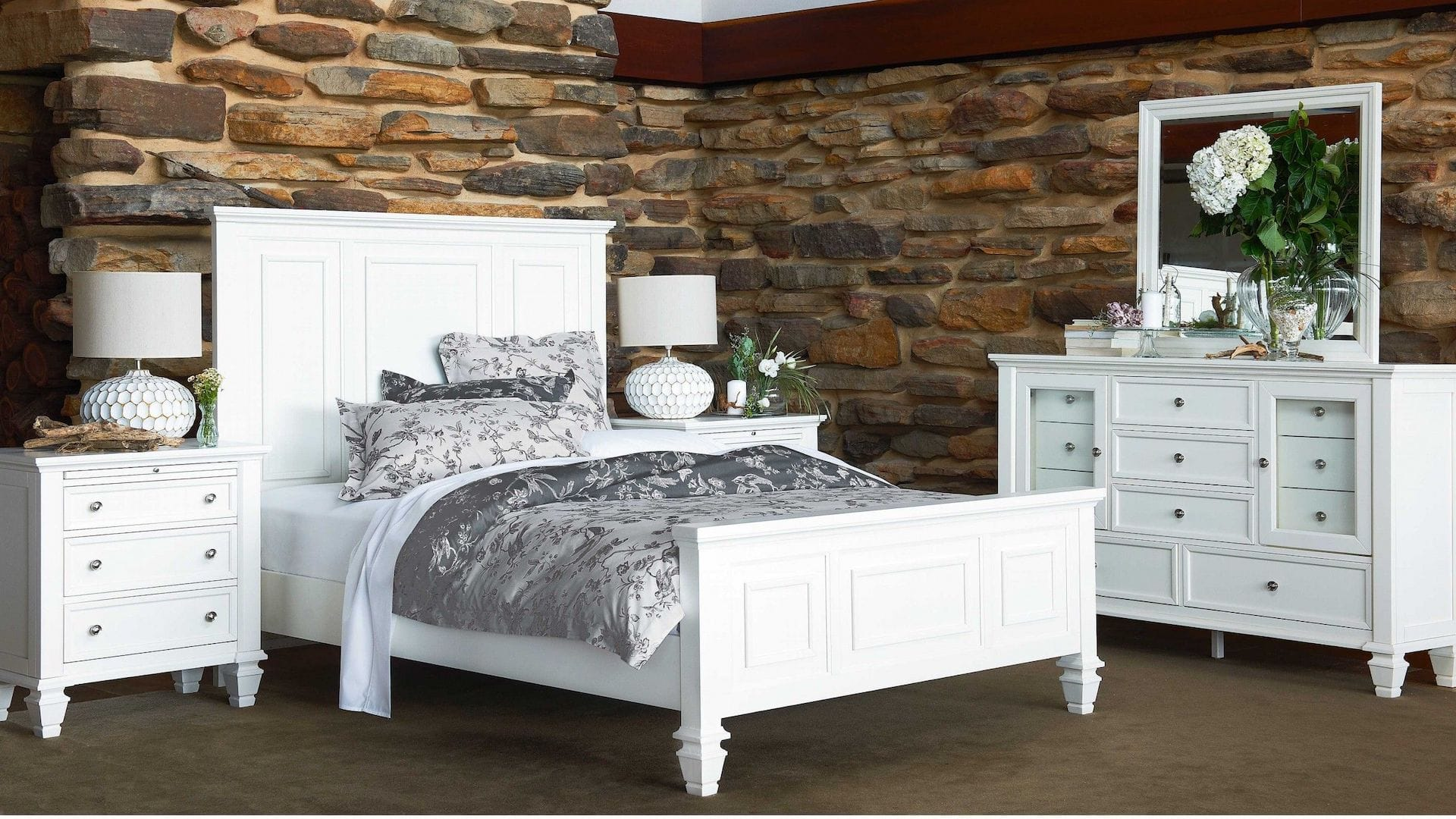 all white bedroom harvey norman timber furniture