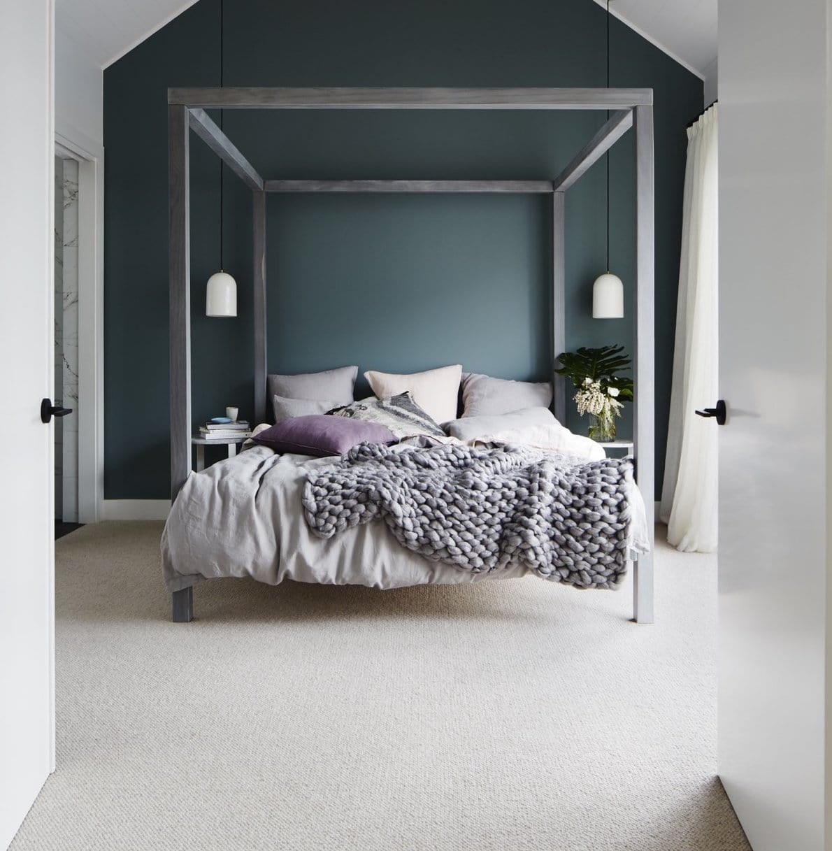 sophia four poster bed from house of orange in deanne jolly master bedroom