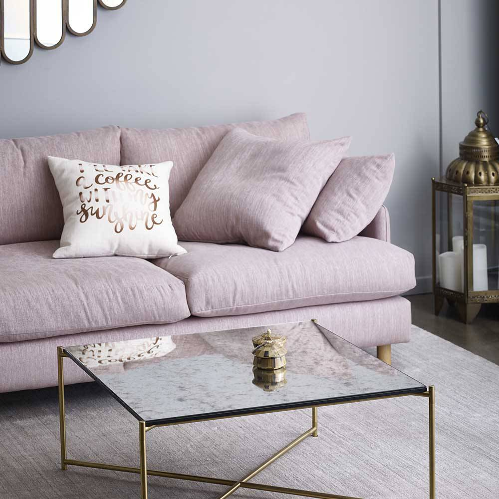 rydell sofa molmic furniture in grey living room with glass coffee table