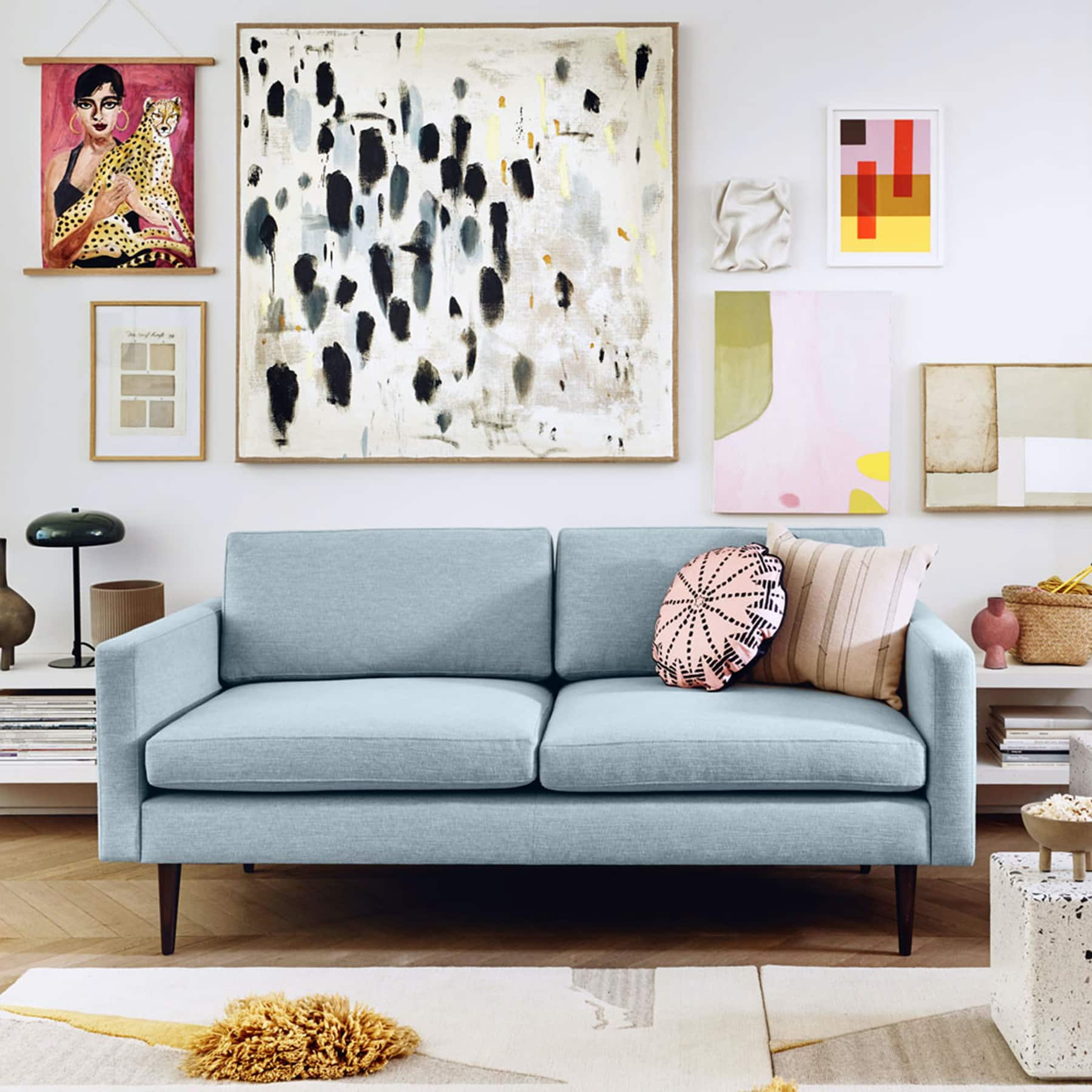 sierra two seater sofa for small living room temple and webster