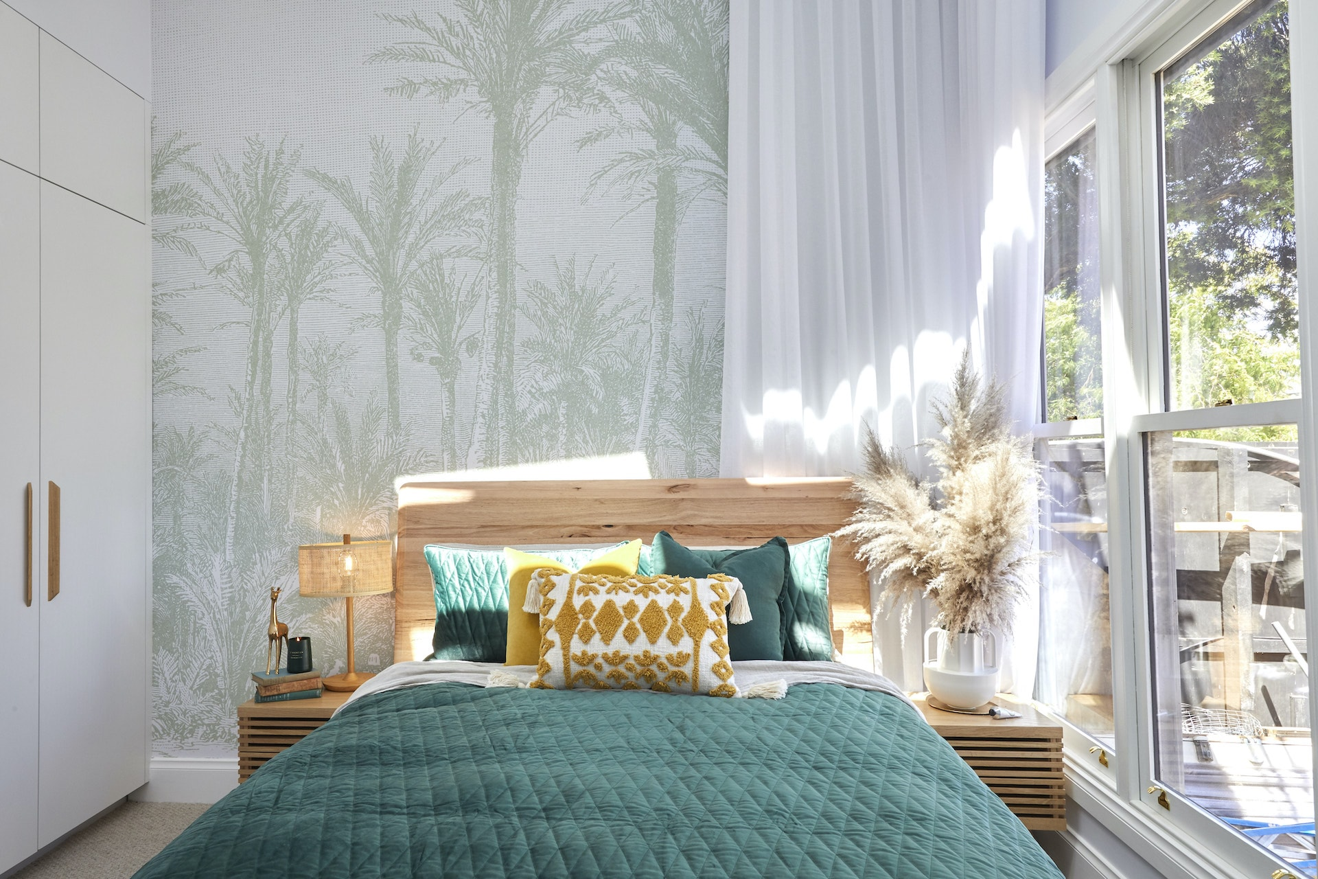 the block 2020 guest bedroom reveal jimmy and tams bedroom