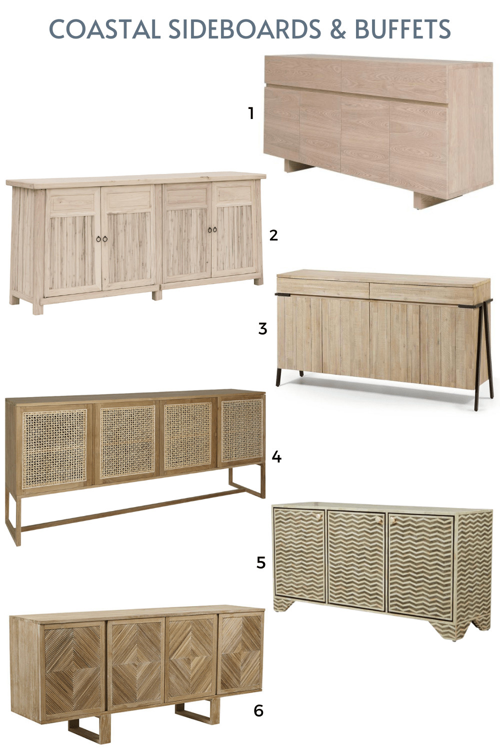 coastal timber sideboards buffets online