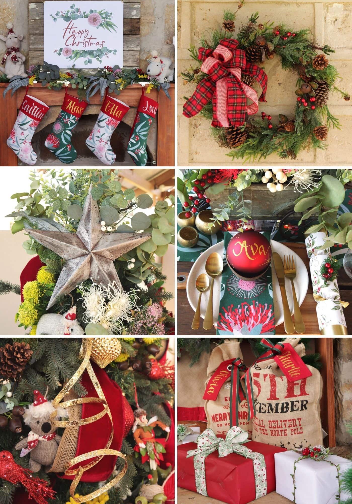 australian bush christmas decorating ideas