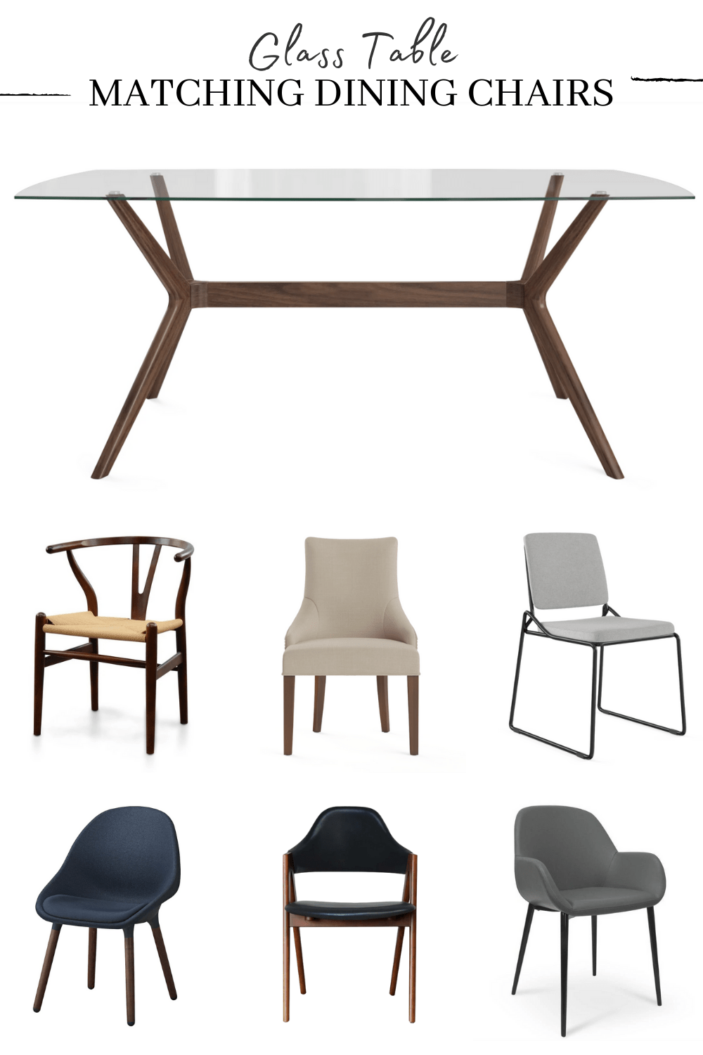 dining chairs for a glass top dining table