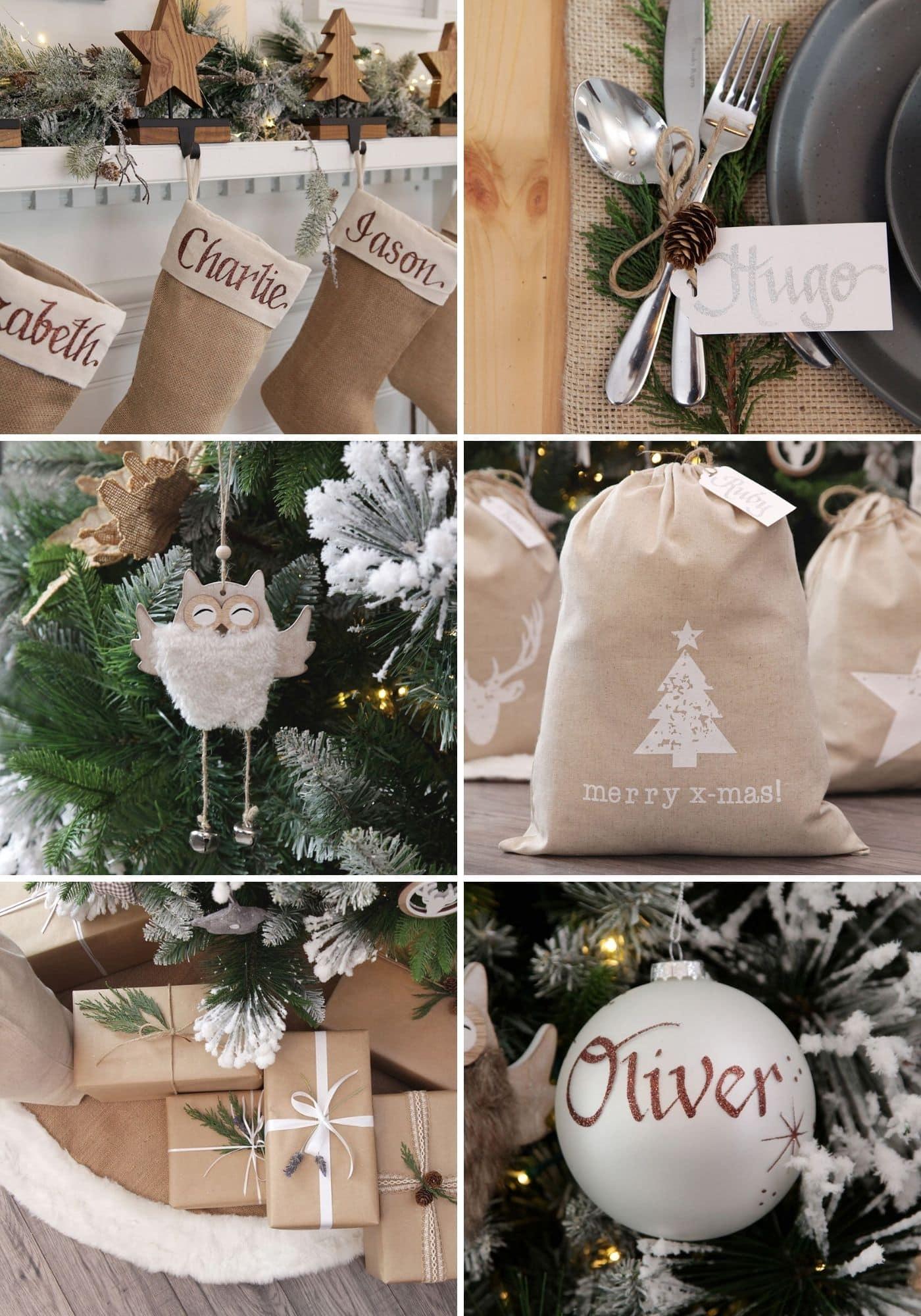 rustic scandi christmas decoration ideas