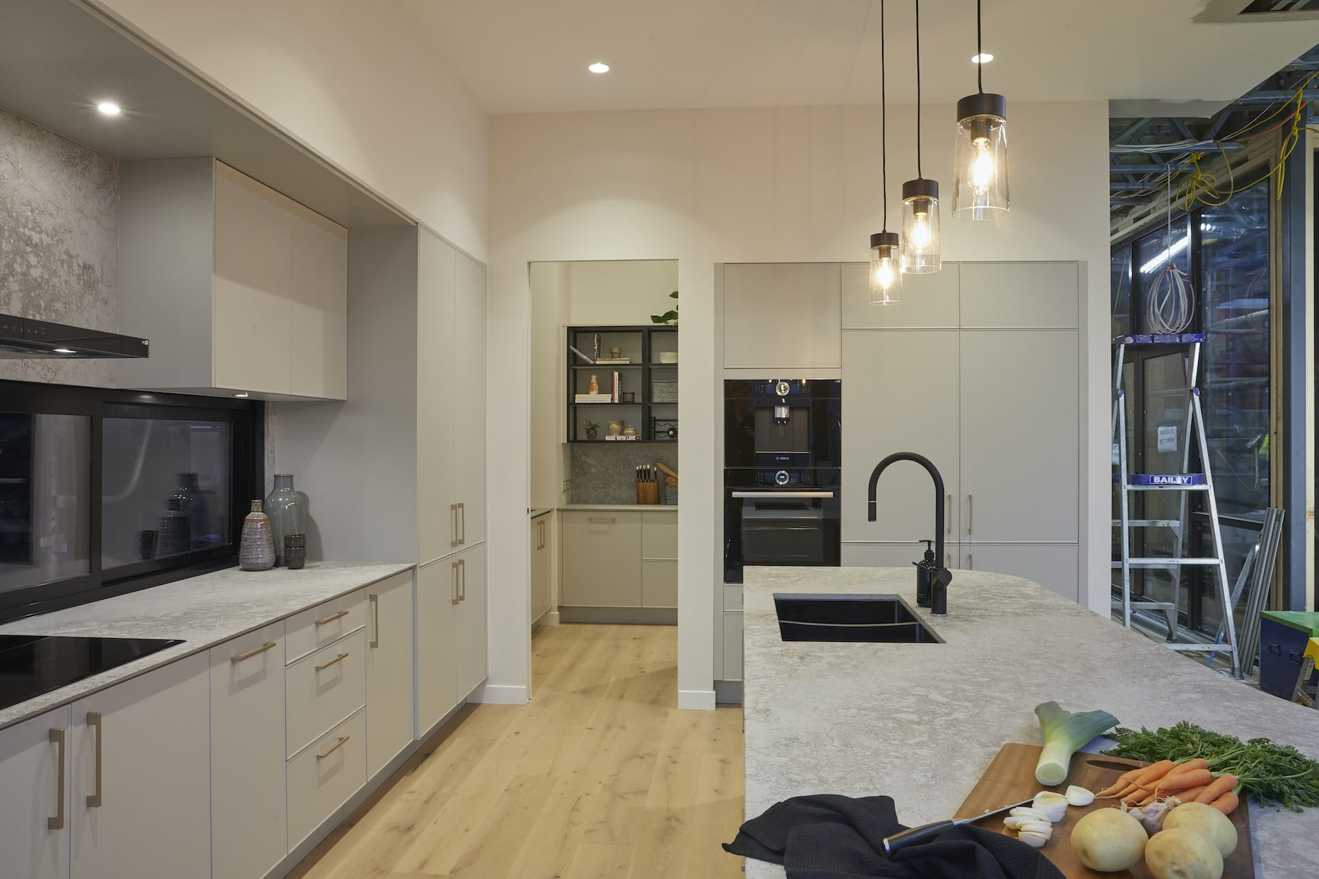 the block 2020 Daniel and Jade Kitchen and butlers pantry