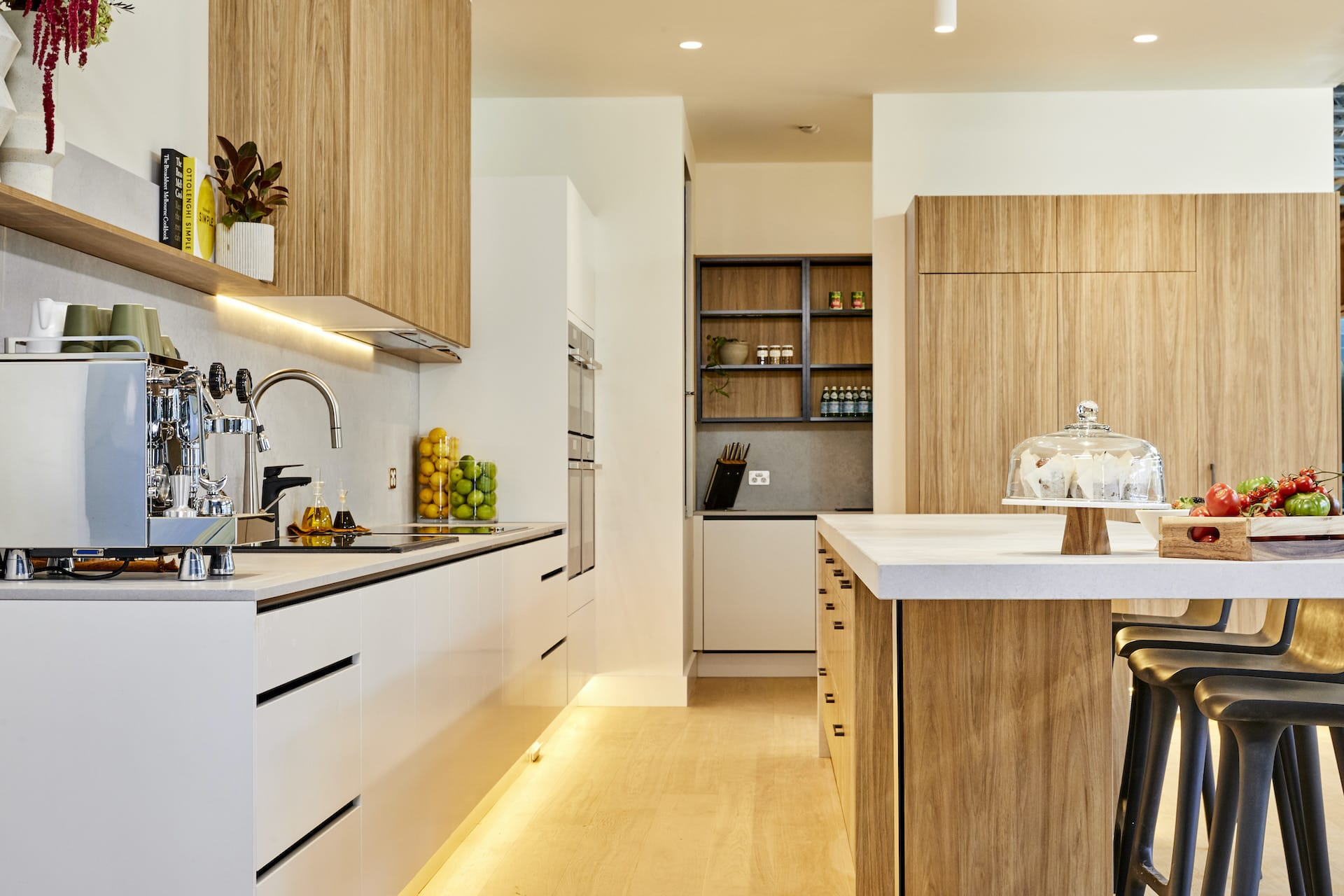 the block 2020 Harry and Tash Kitchen and butlers pantry