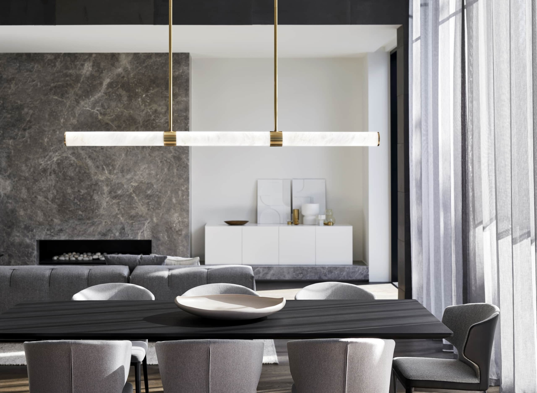 Dining Room Pendant Light Ideas For All Table Shapes Tlc Interiors