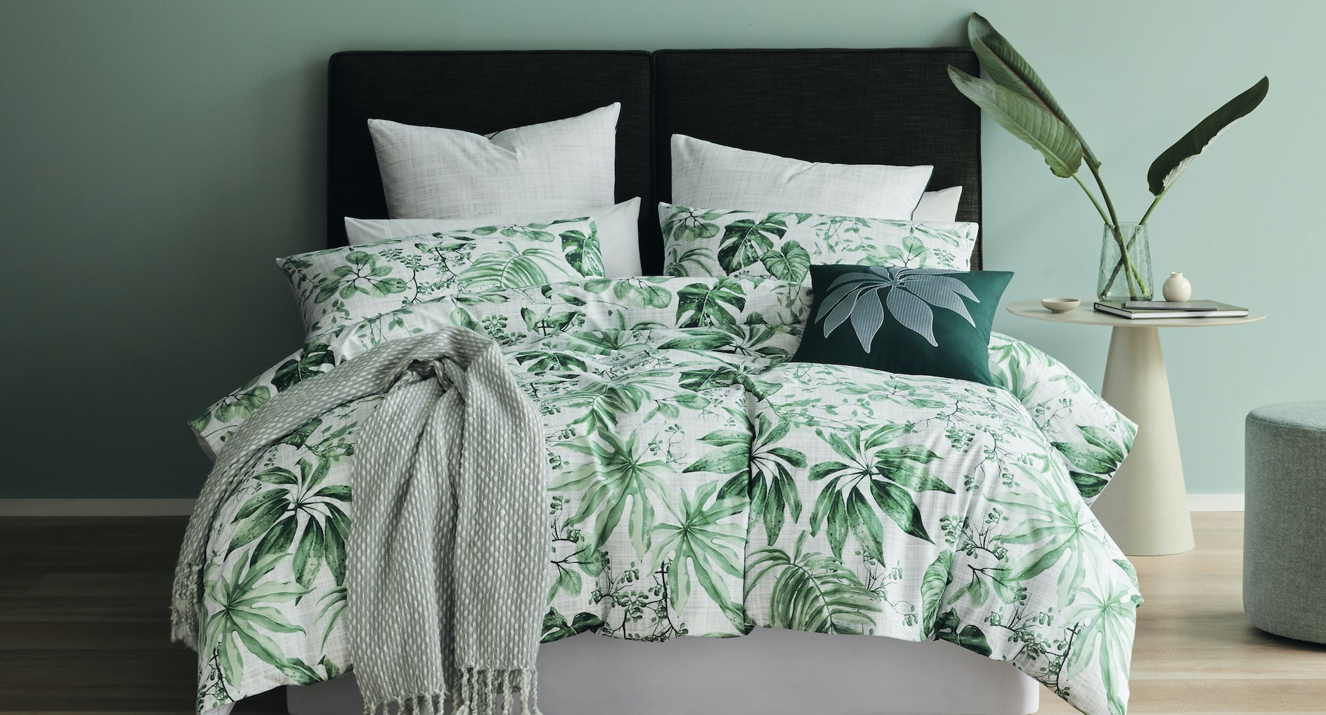 lorrain lea villa quilt cover set tropical bedding trends 2021