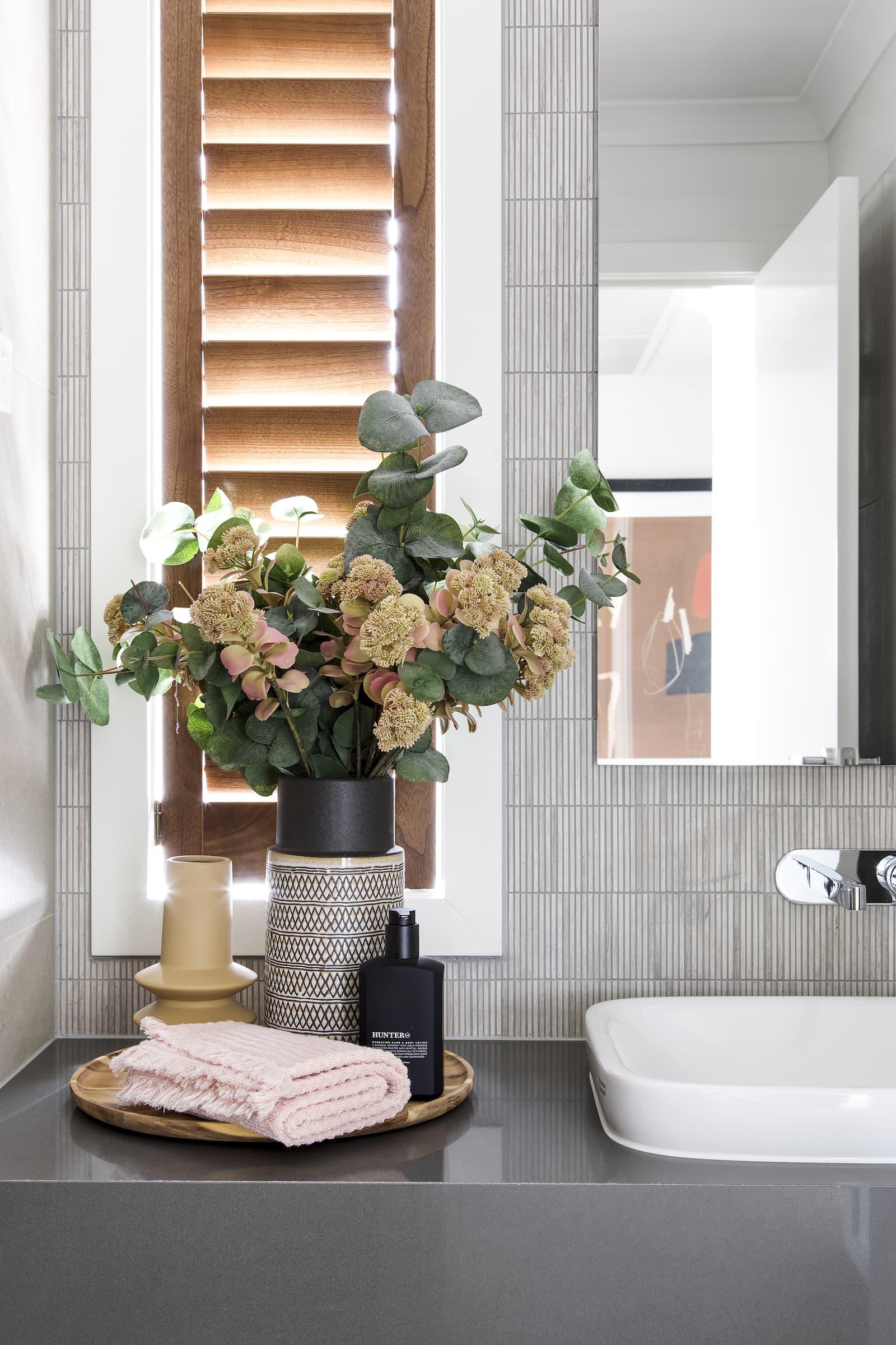 lorraine lea cooper towels bathroom vanity styling ideas