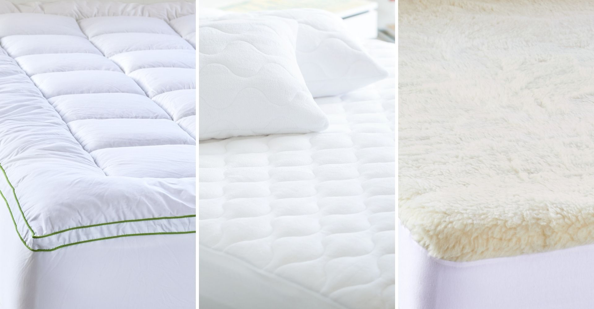 lorraine lea mattress topper protector and underlay for mattress