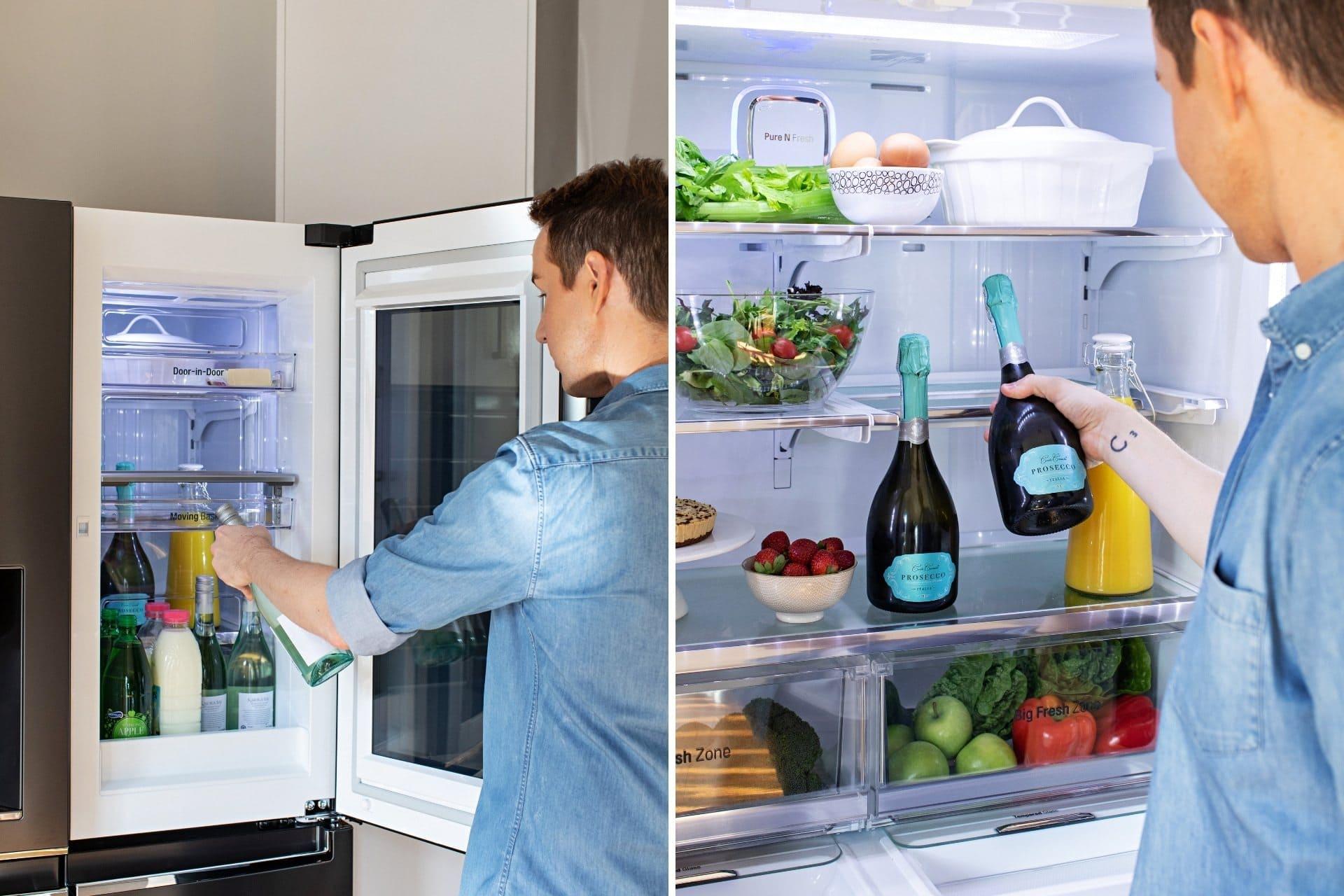 LG instaview door in door french fridge chris carroll review