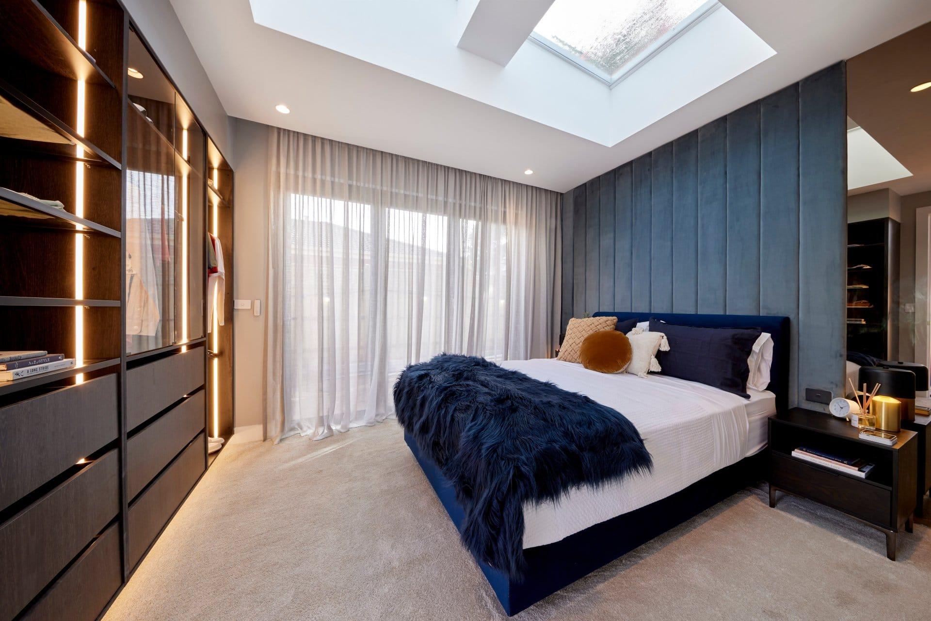 the block 2021 josh and luke guest bedroom