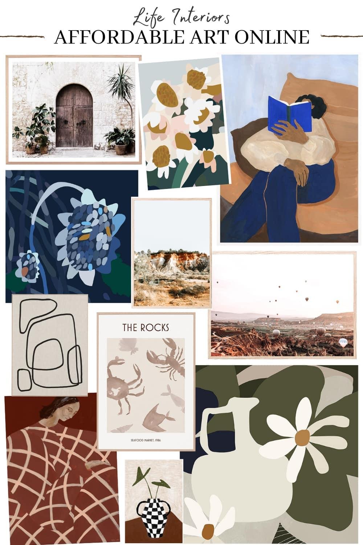 affordable art online australia life interiors art prints floral artworks