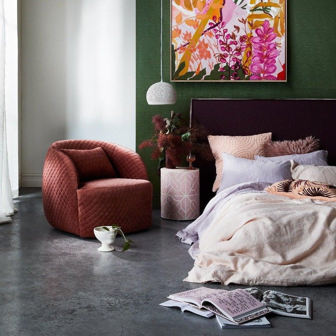 mature teenage girl bedroom ideas kate mayes art in jewel tone luxe bedroom