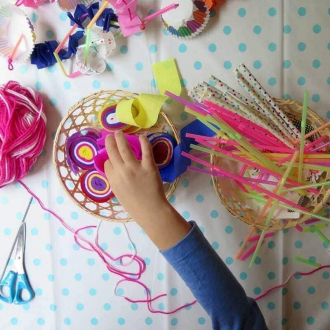 Kids Craft Ideas from Me and My Girl on TLC Interiors