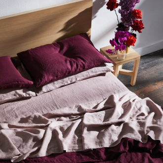bed threads ruby flax line bedding colour trends for the bedroom