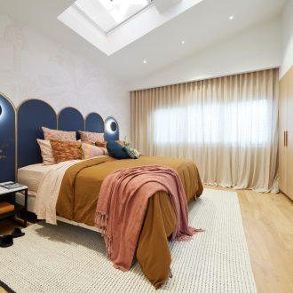 the block 2021 tanya and vito master bedroom skylight